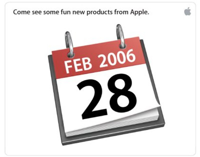 Appleからの招待状