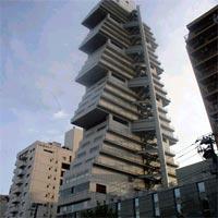 日本の奇妙な形のビル